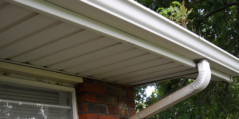 Just Clean Pressure Washing provides quality gutter and soffit cleaning